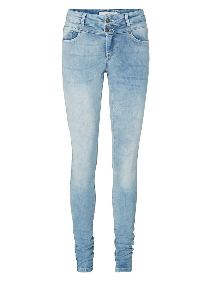 SEVEN NW SKINNY FIT JEANS, Light Blue Denim, large