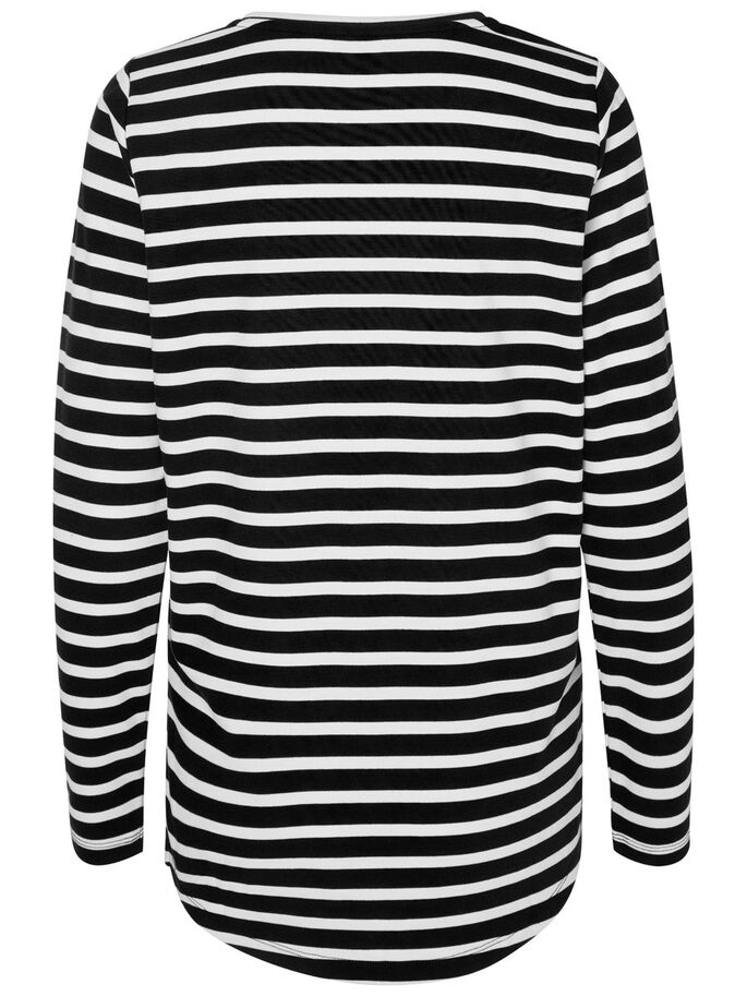 LONG SLEEVED SWEATSHIRT, Black, large
