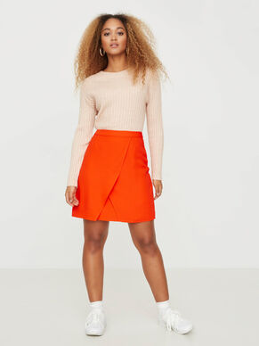 SHORT DETAILED SKIRT