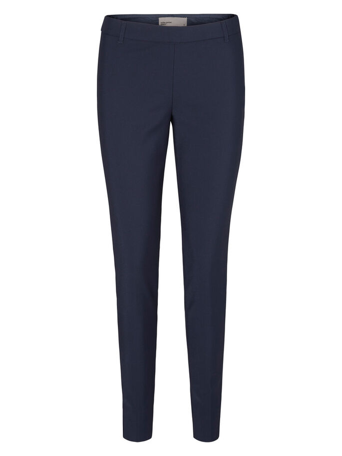 SLIM FIT TROUSERS, Navy Blazer, large