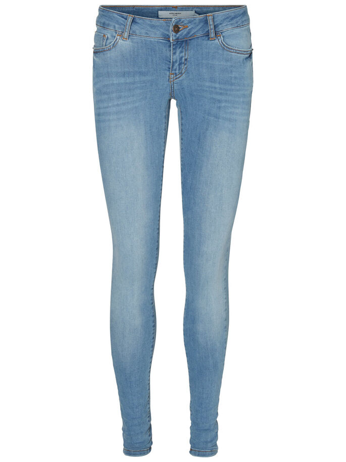 ONE SLW SKINNY FIT JEANS, Light Blue Denim, large