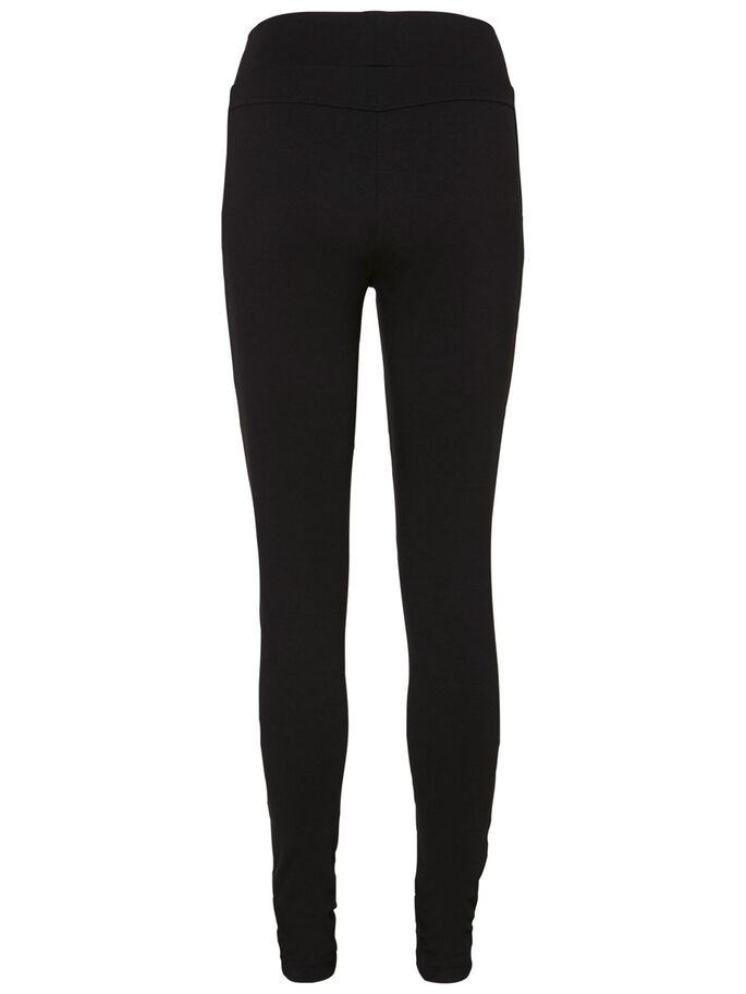 STRONGER NW BIKER LEGGINGS, Black, large