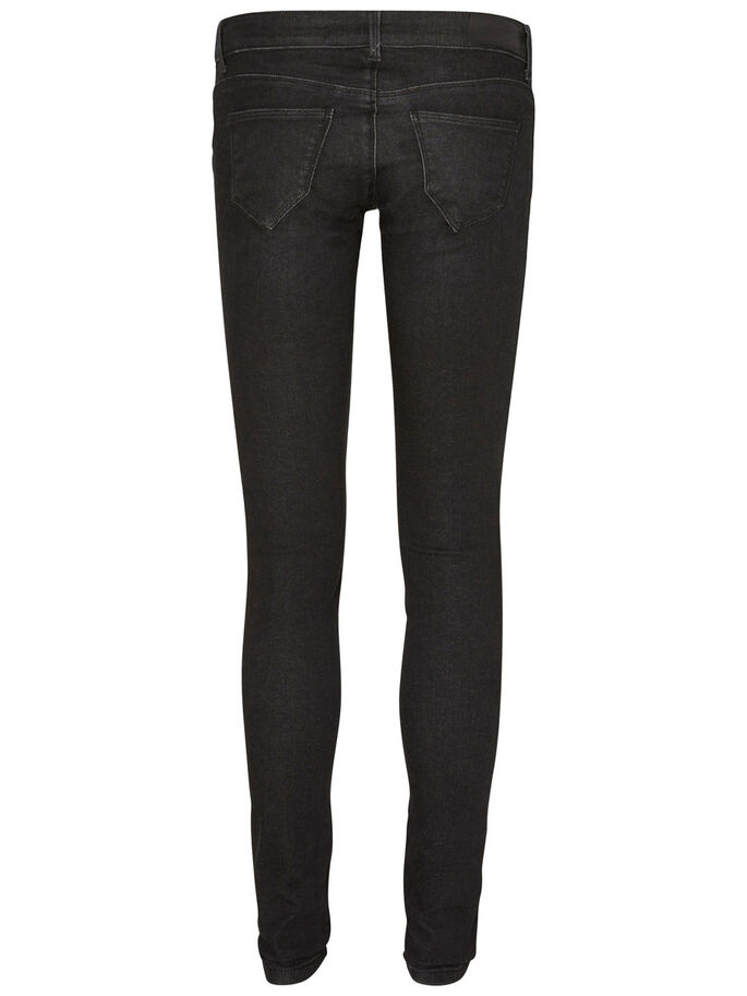 ONE SLW SKINNY JEANS, Black, large