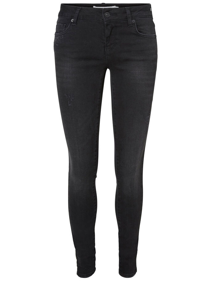 FIVE LW SUPER SKINNY JEANS, Black, large