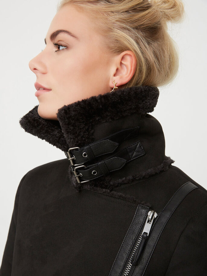 WINTER COAT, Black, large