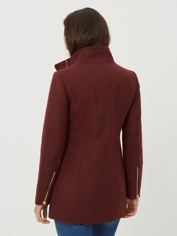 LONG JACKET, Decadent Chocolate, large