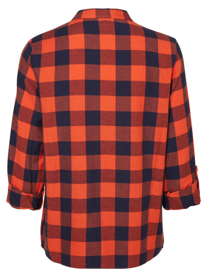 CHEQUERED CARDIGAN, Grenadine, large