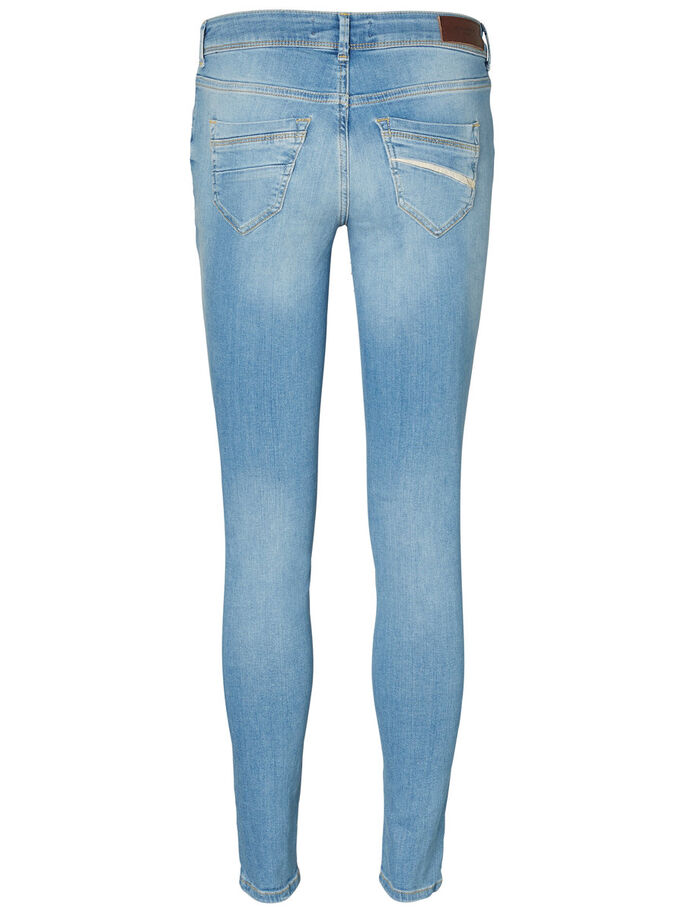 FIVE LW SKINNY FIT JEANS, Light Blue Denim, large