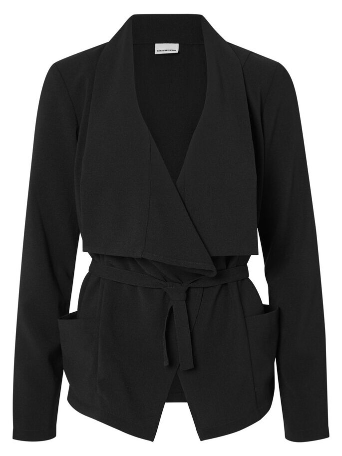 SHORT BLAZER, Black, large