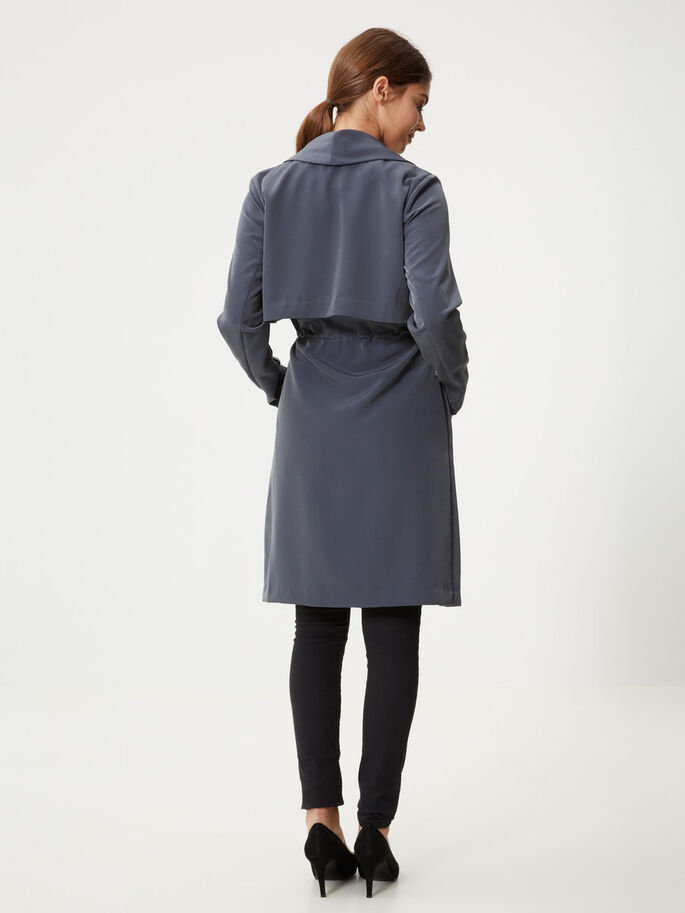 DRAPÉ TRENCH, Ombre Blue, large