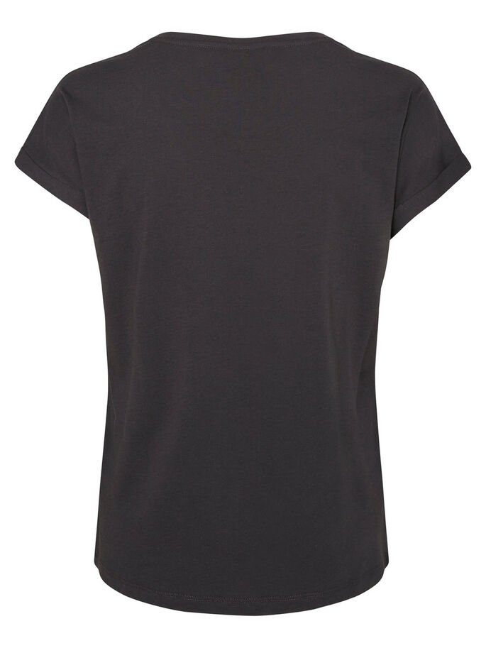 CASUAL T-SHIRT, Asphalt, large