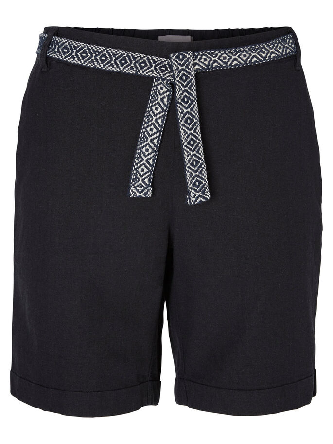 FEMININE SHORTS, Black, large