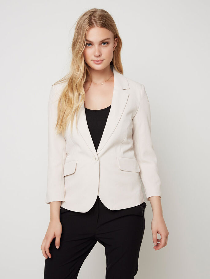 CLASSIC BLAZER, Moonbeam, large