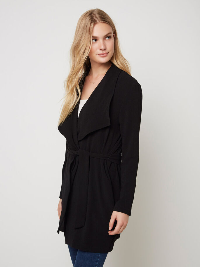 3/4 VESTE, Black, large