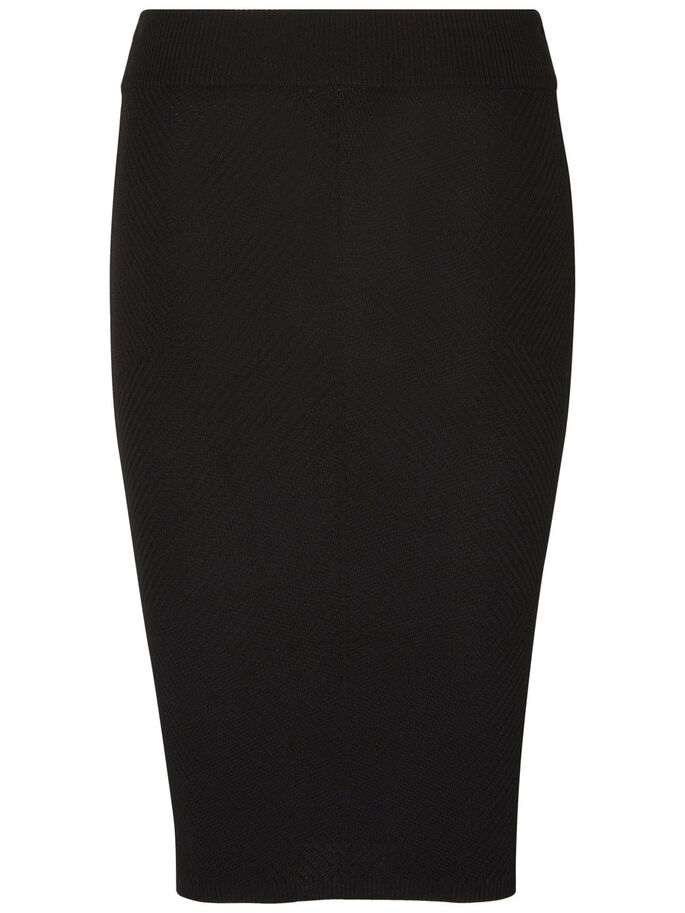 NW PENCIL SKIRT, Black, large