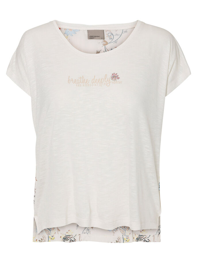 BEDRUCKTES T-SHIRT, Moonbeam, large