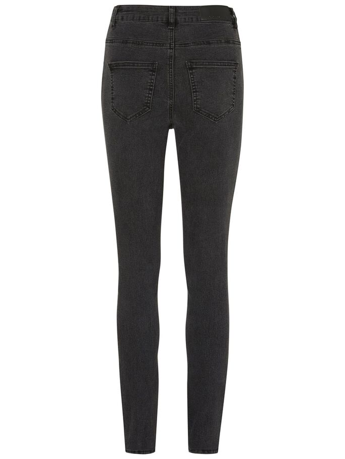SKY HW SKINNY FIT JEANS, Black, large