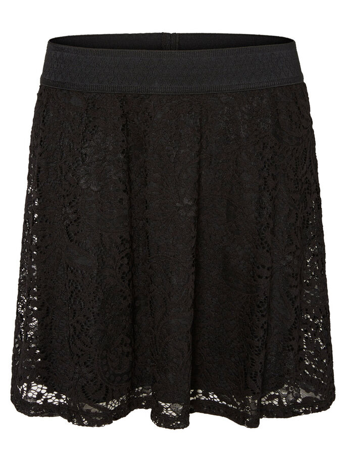 LACE NW SKIRT, Black, large