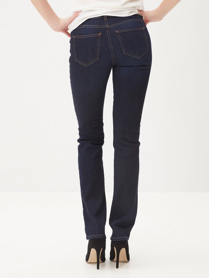 SUVI NW STRAIGHT FIT JEANS, Dark Blue Denim, large