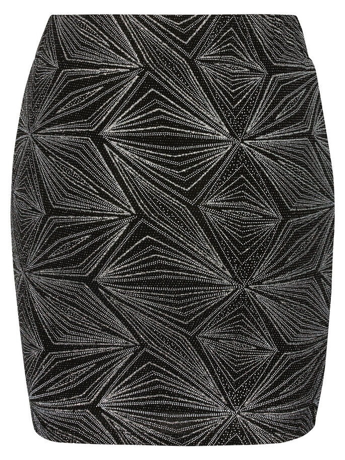 NW GLITTER- ROCK, Black, large