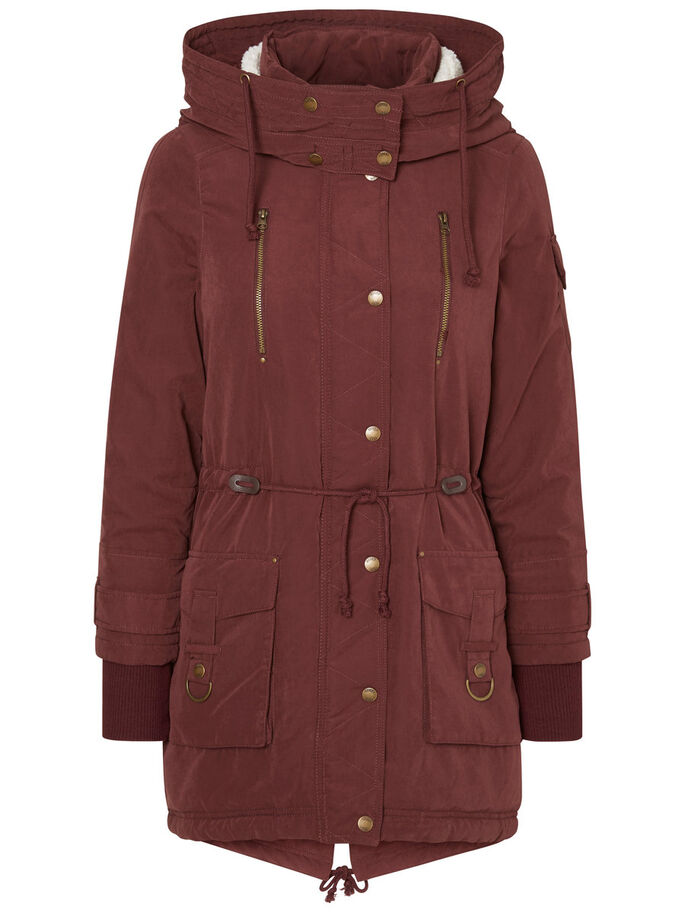 WINTER- JACKE, Decadent Chocolate, large