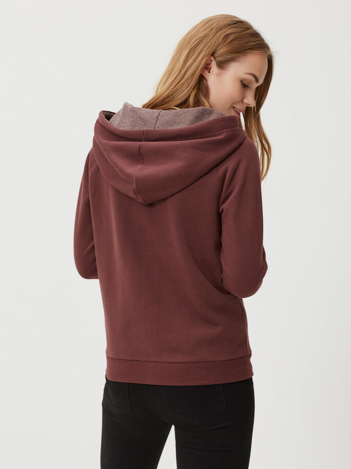 LANGERMET SWEATSHIRT, Decadent Chocolate, large