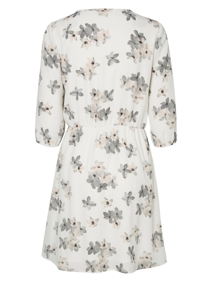 FLOWER PRINTED DRESS, Snow White, large