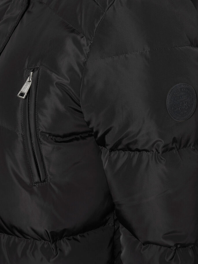WINTER JACKET, Black, large