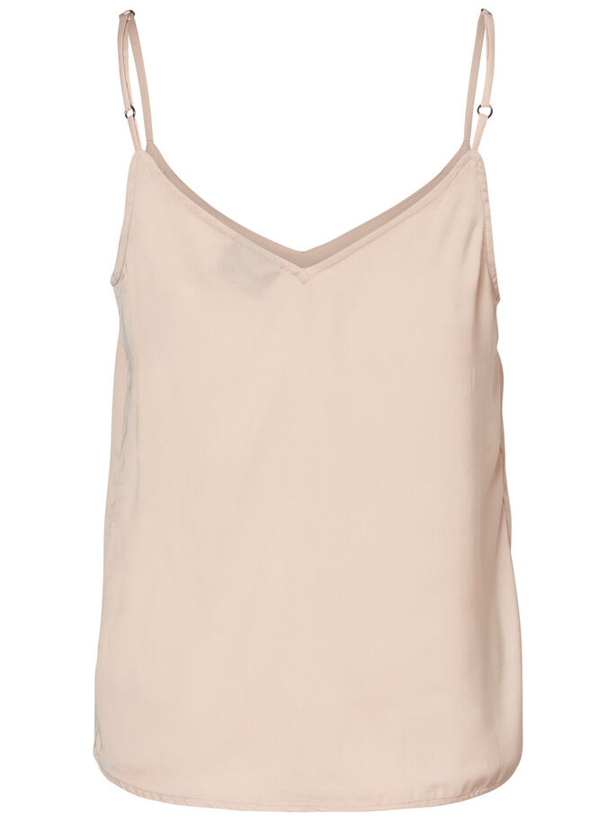 FRILL SINGLET, Cameo Rose, large