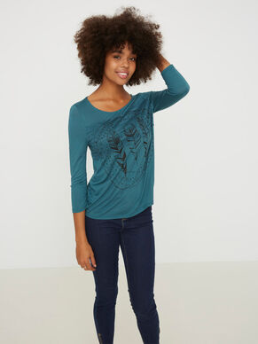 CASUAL 3/4 SLEEVED TOP