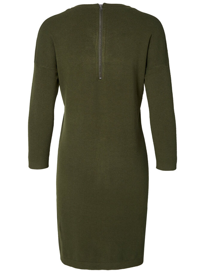 3/4-MOUW JURK, Ivy Green, large