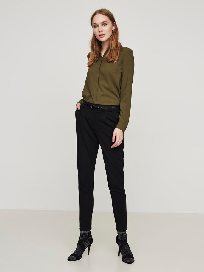 CLASSIC LONG SLEEVED SHIRT, Ivy Green, large