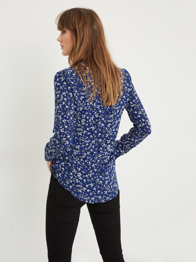 PRINTED SHIRT, Ombre Blue, large