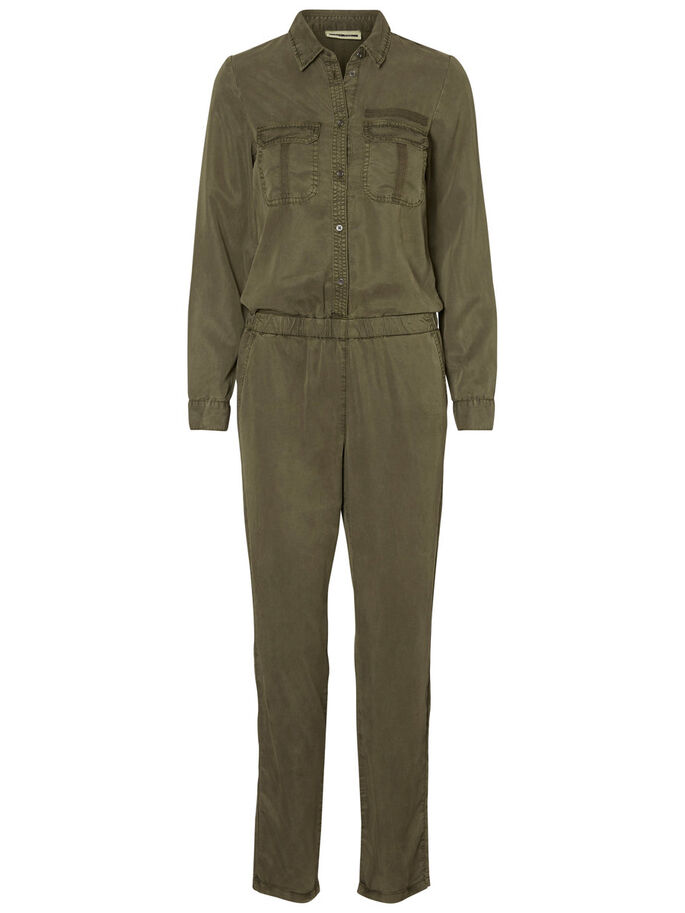 LYOCELL JUMPSUIT, Ivy Green, large