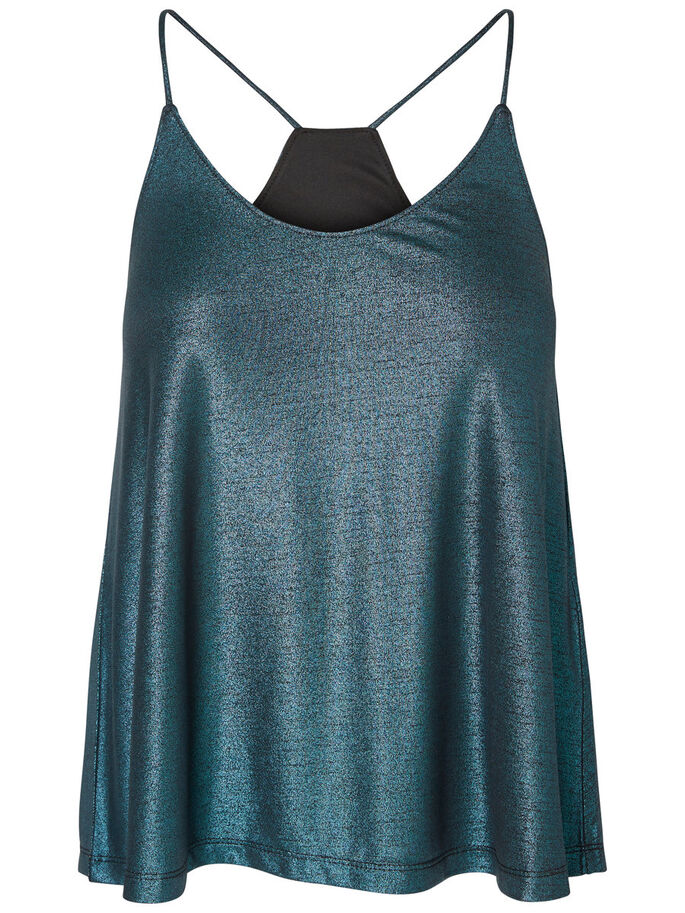 CAMI MOUWLOZE TOP, Canal Blue, large