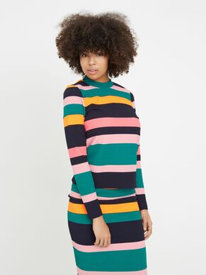 COLOURFUL KNITTED PULLOVER