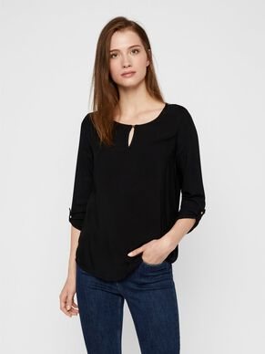 CLASSIC 3/4 SLEEVED BLOUSE