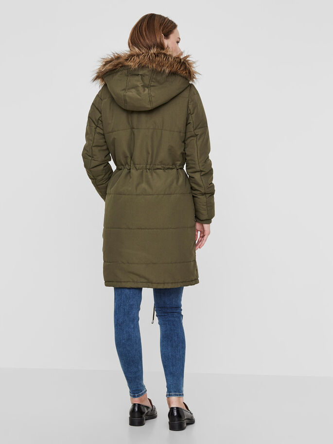 HIVER MANTEAU, Ivy Green, large
