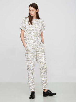 PRINTED NW TROUSERS