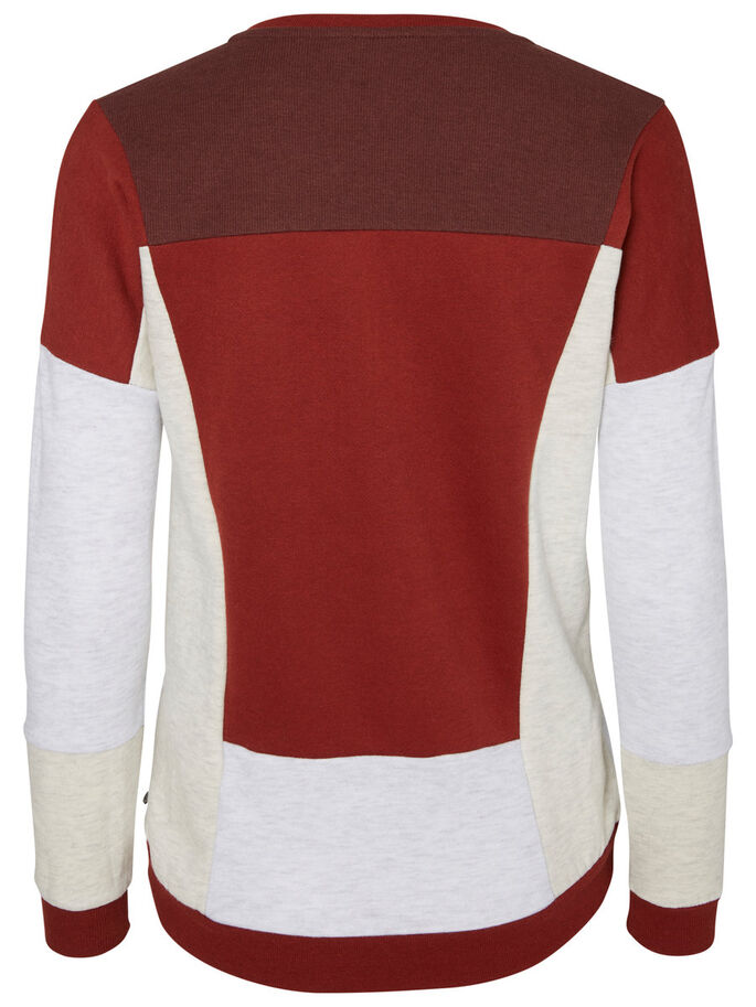 LANGÄRMELIGES SWEATSHIRT, Decadent Chocolate, large