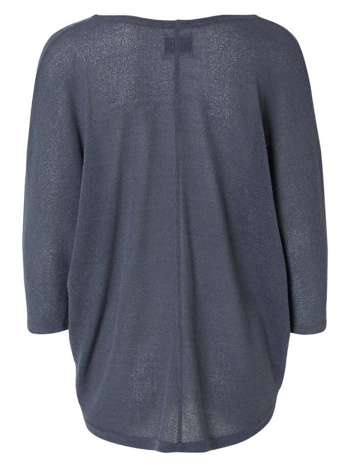 OVERSIZED KNITTED BLOUSE, Ombre Blue, large