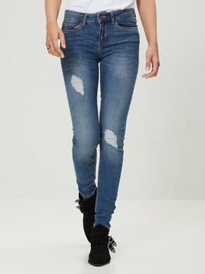 LUCY NW SKINNY FIT-JEANS