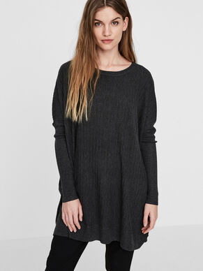 OVERSIZED KNITTED PULLOVER
