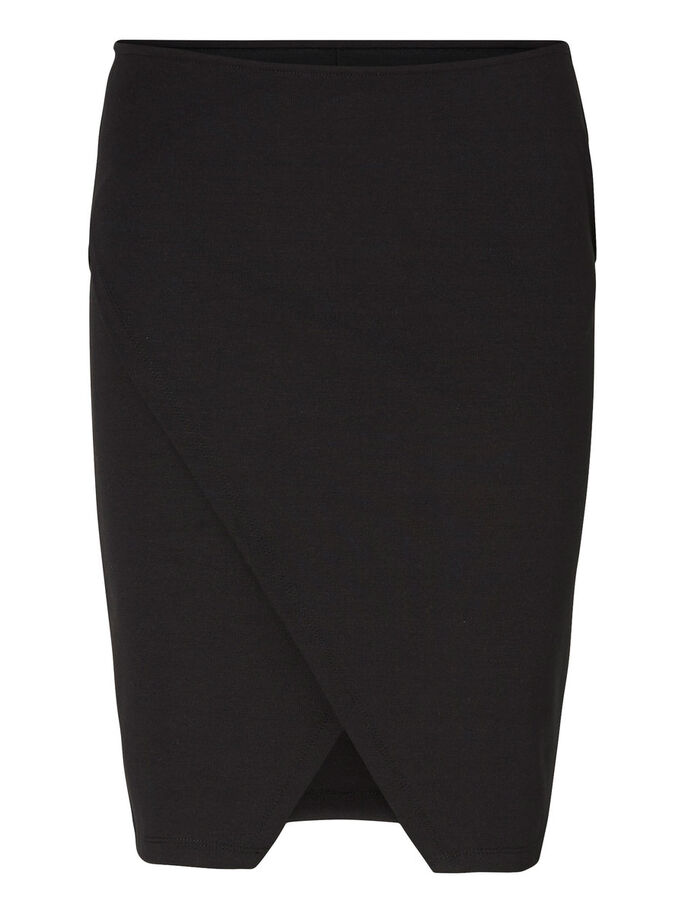 SLIM FIT SKIRT, Black, large