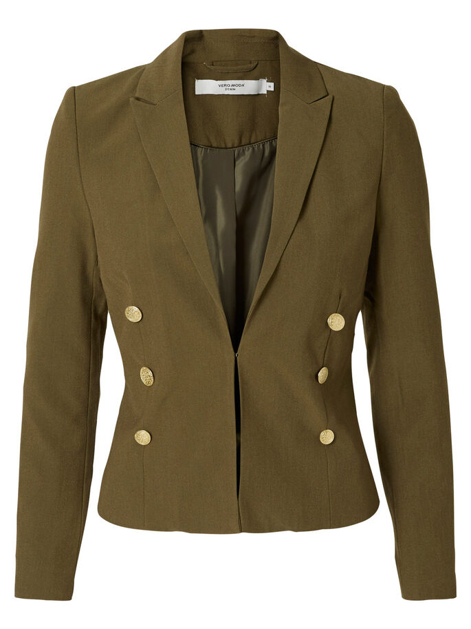 SHORT BLAZER, Ivy Green, large