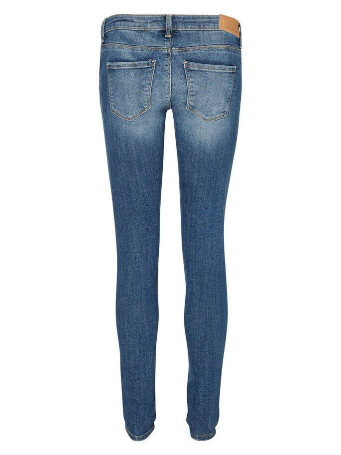 EVE LW JEAN SKINNY, Medium Blue Denim, large