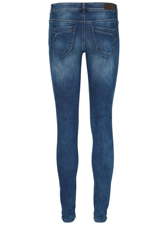FIVE LW SKINNY FIT-JEANS, Dark Blue Denim, large