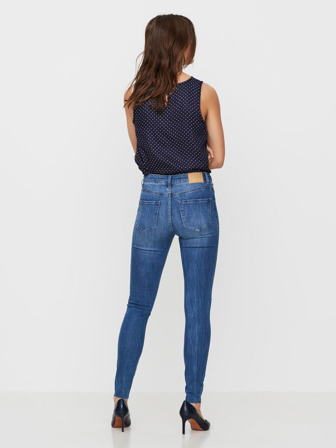 SEVEN NW SKINNY JEANS, Medium Blue Denim, large
