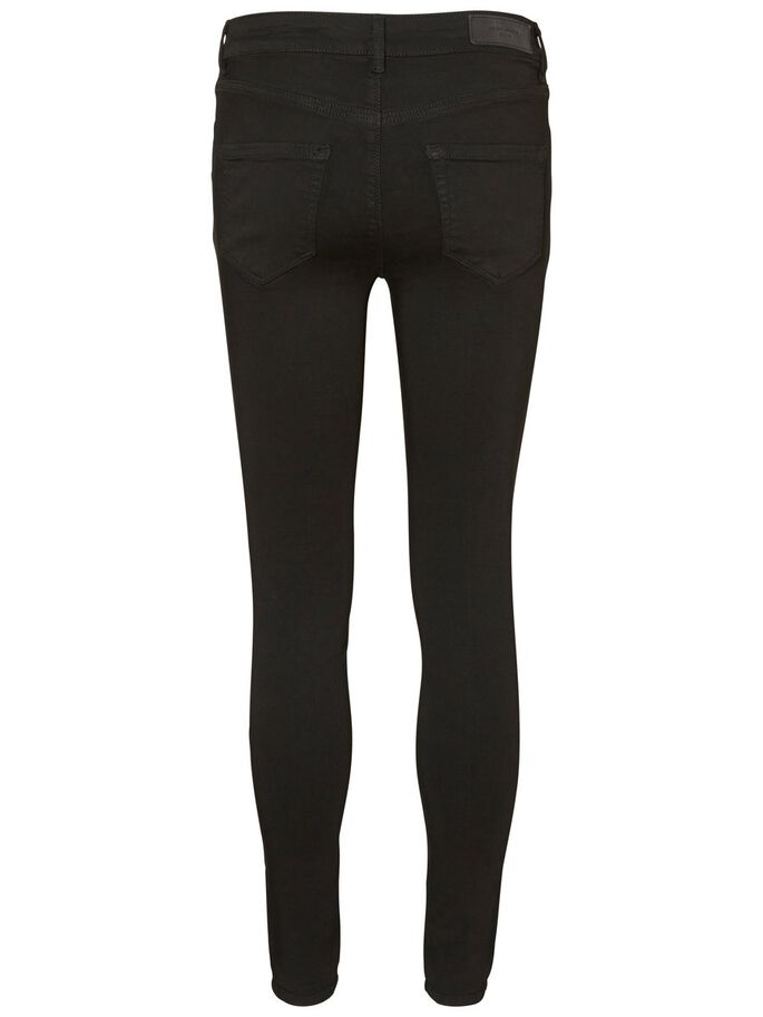 LUX NW SKINNY FIT JEANS, Black, large