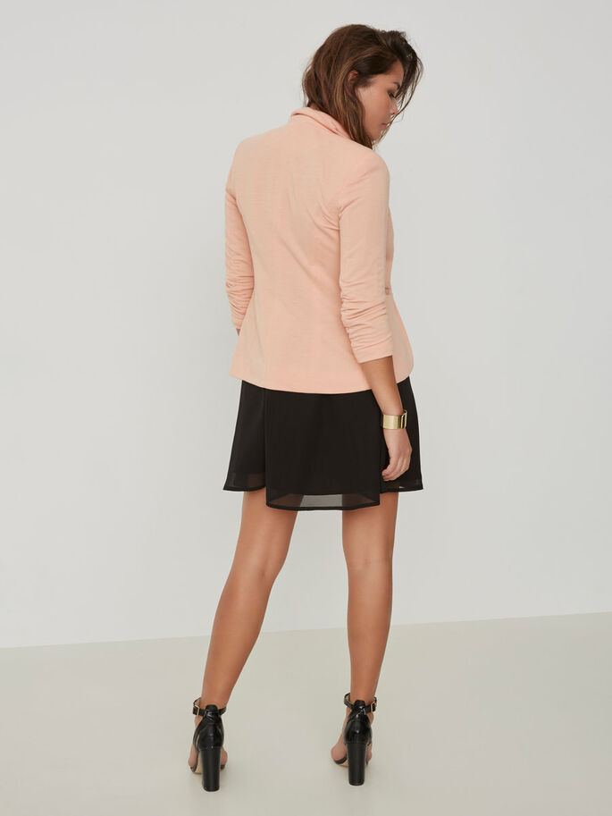 3/4 SLEEVED BLAZER, Dusty Coral, large